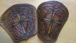 Teutonic bracers by Sharpener