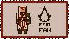Assassin's Creed stamp | Ezio Fan by Lazorite
