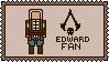 Assassin's Creed stamp | Edward Fan by Lazorite