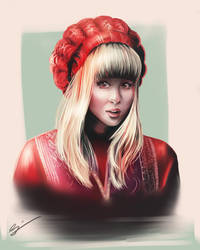 The red hat by Gyzra