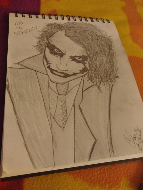 Why So Serious by clarerose1389