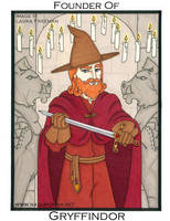 Harry Potter Tarot: Ace of Wands by nasubionna