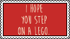 I hope you step on a lego by Stampzone