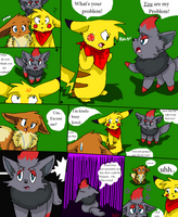 Trouble in the midst 25 by Skyrocker4cats