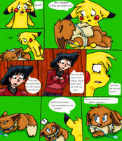 Trouble in the midst 45 by Skyrocker4cats