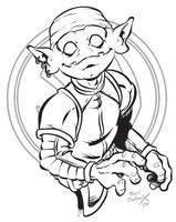 Goblin Boy by handtoeye