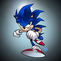 Sonic Practice 1 by handtoeye