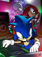 Dj Sonic by handtoeye