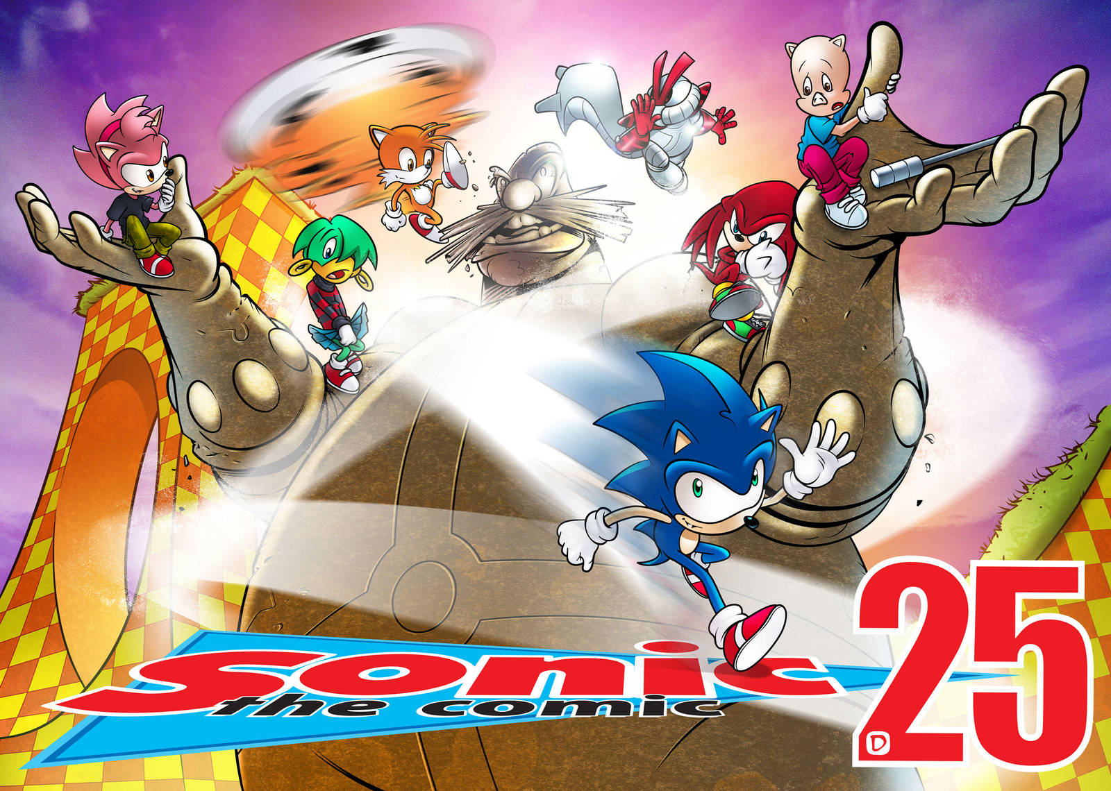 Sonic the Comic 25 by handtoeye