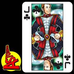 Jack of clubs by handtoeye
