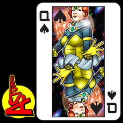Queen of spades by handtoeye