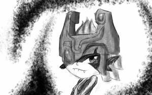 midna sketch by Legend-Cooper