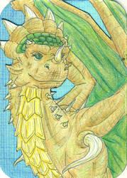 Adult Zodiac Female - Green by FelineBlue80
