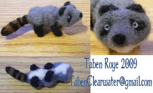 Mateo Felted Sculpture by FelineBlue80