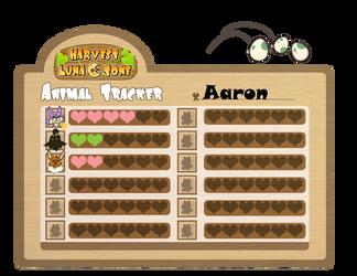 Harvest Lunatone - Aaron's Animal Tracker by FelineBlue80