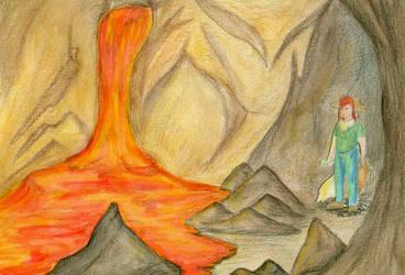 Harvest Lunatone: Cave #2- Wrong Turn by FelineBlue80