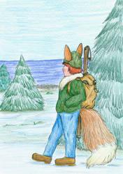Soothing Hike: Snowfall Inlet - Trail #1 by FelineBlue80