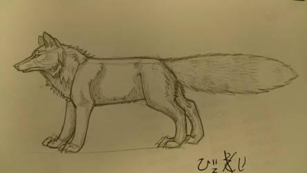 Foxdoodle by ZirratheGoldenFox
