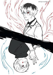 Tokyo Ghoul:re by alempe