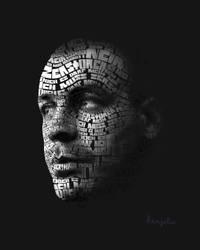 Typographic Lindemann by Kenjilia