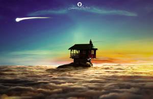 Fishing in the sky by LuhaBiha