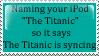 titanic by lauren-lovebites