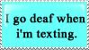 i go deaf by lauren-lovebites