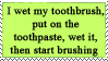 toothbrush by lauren-lovebites