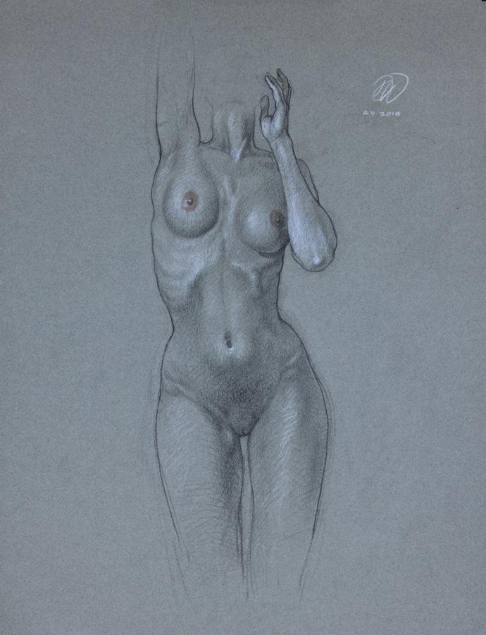 Girl Of Grey by dominikwdowski