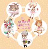 Dessert Adopt Set Price [OPEN] 3 left by chisacha