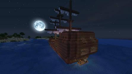 Minecraft - Pirate Ship by Homunculus84