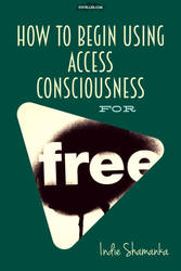 Access Consciousness Free (green) vertical version by RachelHWhite