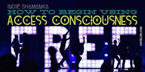 Access Consciousness Free - horizontal version by RachelHWhite