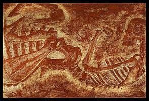Centaur Fossil by RachelHWhite