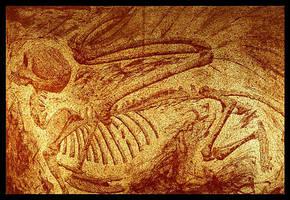 Sphinx Fossil by RachelHWhite