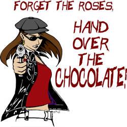 Hand Over the Chocolate by RachelHWhite