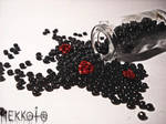World in bottle - Garden of death by Hekkoto