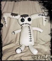 Sadistic Bunny plushie by Hekkoto