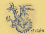 Dragon by Hekkoto