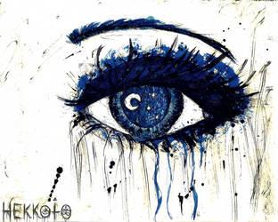Night eye by Hekkoto