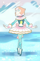 Pearl in pearl outfit (SU style) by QuasariusCyborg