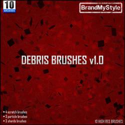 DEBRIS BRUSHES v1.0 by brandmystyle
