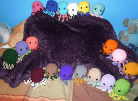 Octopus Party by VanillaAcolytes