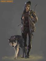 MIra the Hunter by Weilard
