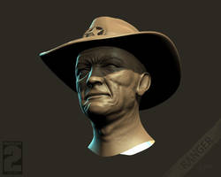 Wasteland 2 - Ranger Face Main by Weilard