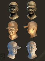 Wasteland 2 - Merchant faces by Weilard