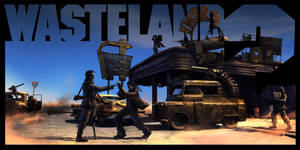 Ready to drive - version 1 - Wasteland 2 fan-art by Weilard