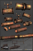 Rusty Pipes Set by Weilard