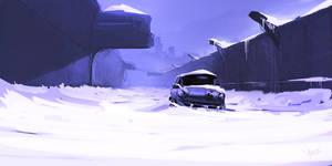Crunch of snow by Weilard