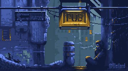 Cyberpunk Jam Result by Weilard